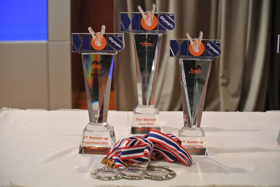 MOS Olympic Thailand Competition 2017