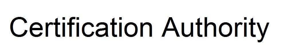ผู้ให้บริการออกใบรับรองอิเล็กทรอนิกส์(Certification Authority :CA)