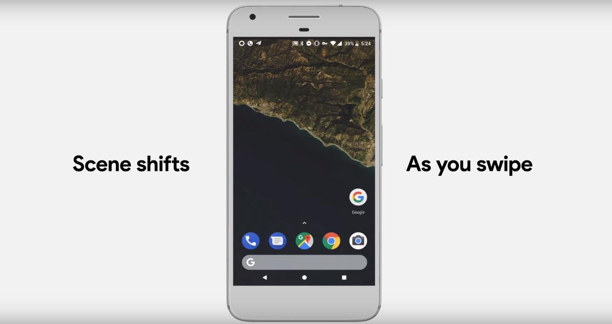 แอปพลิเคชันใน Android เปลี่ยน Wallpaper ให้เป็นแผนที่ที่ตั้งของคุณ