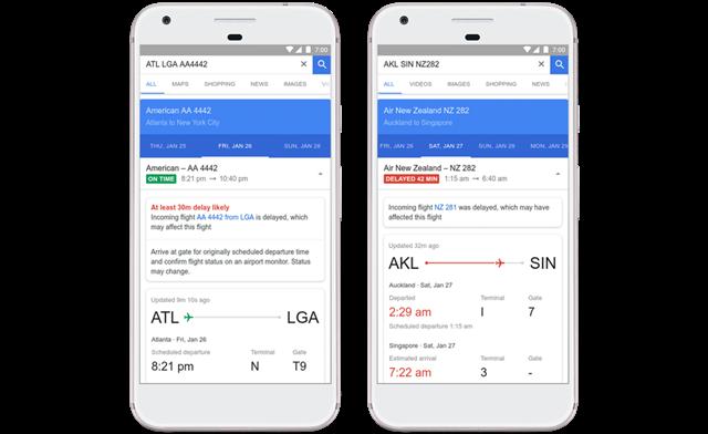 Google ใช้ AI เพื่อบอกความล่าช้าของเที่ยวบิน พร้อมบอกเส้นทางการบินราคาประหยัด