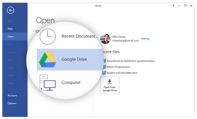 Google Drive สำหรับ Android สนับสนุนการดูไฟล์ Microsoft Office ได้แล้ว