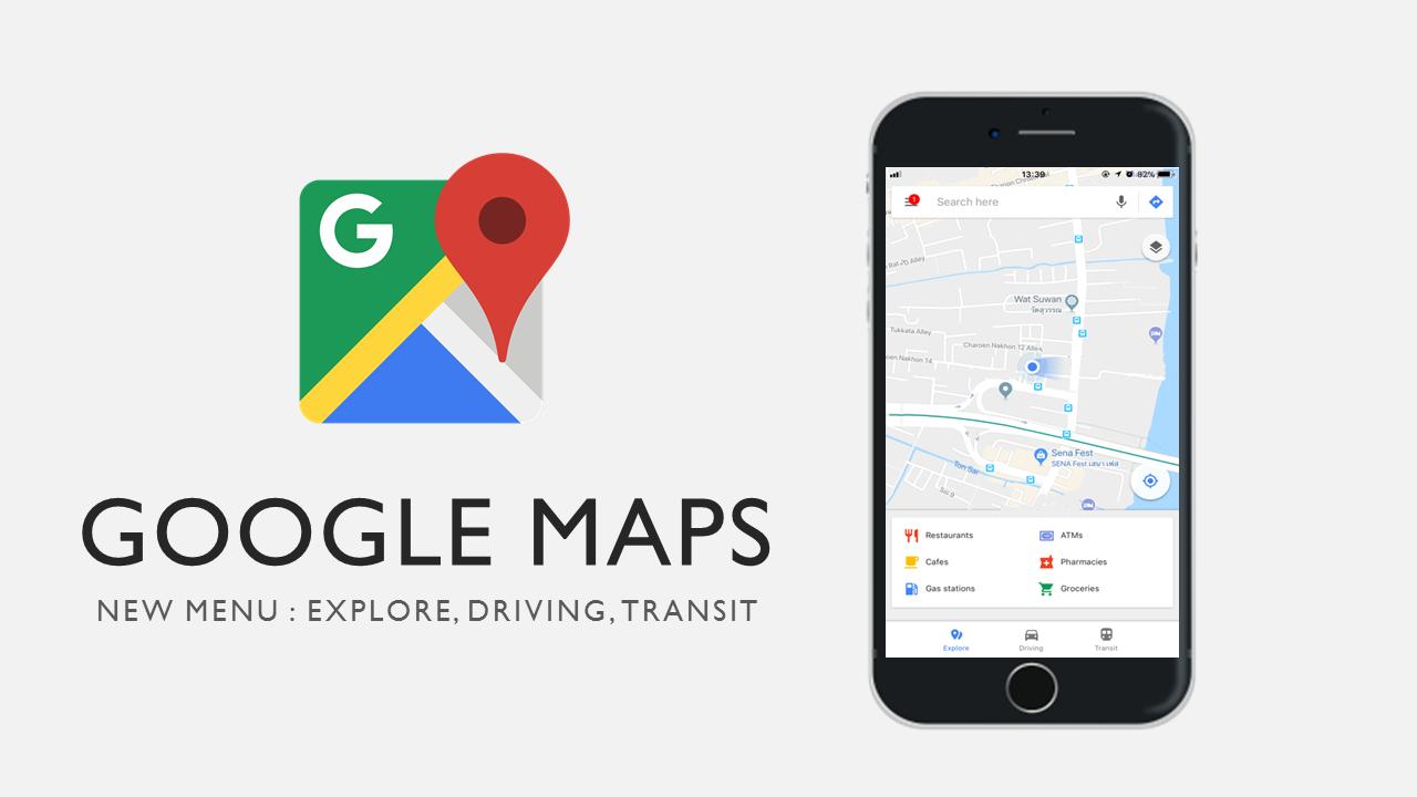 Google Maps อัปเดตให้ผู้ใช้เข้าถึงข้อมูลการเดินทางได้แบบเรียลไทม์บนระบบปฏิบัติการ iOS