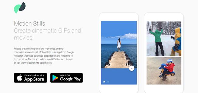 Google Motion Stills เปลี่ยน Live Photos เป็น GIFs ได้