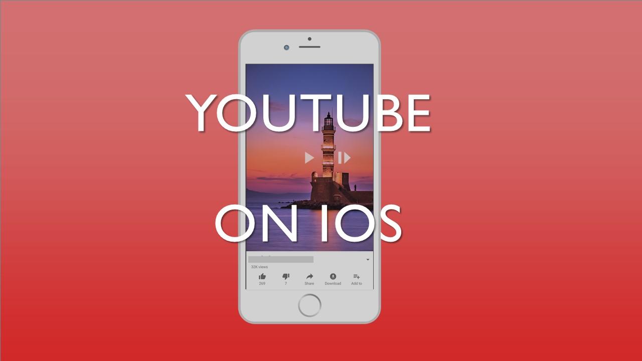 YouTube สามารถแสดงวิดีโอแนวตั้งบน iOS ได้แล้ว