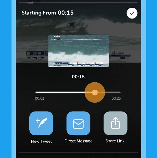 Twitter แนะนำ Timestamps วิธีใหม่ในการแชร์วิดีโอ