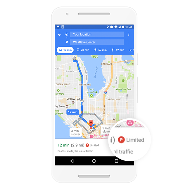Google Map เปิดตัวฟีเจอร์ใหม่สามารถบอกจำนวนที่จอดรถให้คุณได้แล้ว