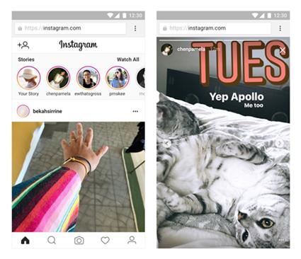 Instagram เพิ่มคุณสมบัติการรับชม Stories ผ่านเว็บไซต์ได้แล้ว