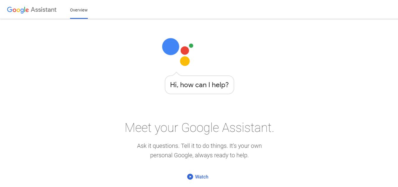 Google Assistant เพื่อรับสุนทรพจน์หลักการปรับปรุงตามบริบทและคุณลักษณะใหม่ ๆ