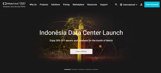 Alibaba Cloud ตั้ง Data Center แห่งแรกในอินโดนีเซีย
