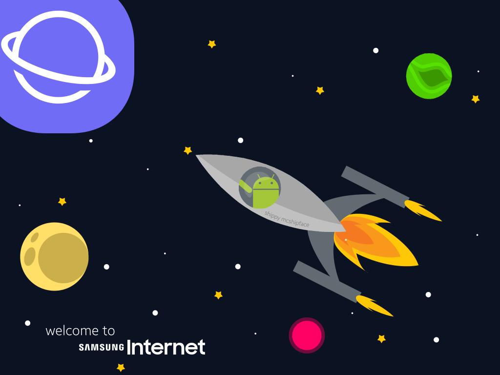 Samsung Internet เบราว์เซอร์มือถือรุ่นใหม่จาก Samsung