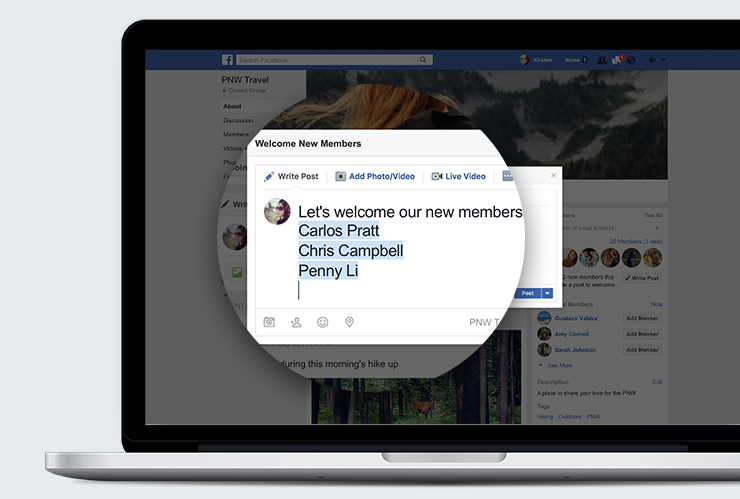 Facebook เพิ่มคุณลักษณะใหม่สำหรับกลุ่ม เพื่อสร้างชุมชน