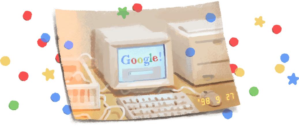 HAPPY 21 st BIRTHDAY, GOOGLE :  27 กันยายนวันเกิดกูเกิล