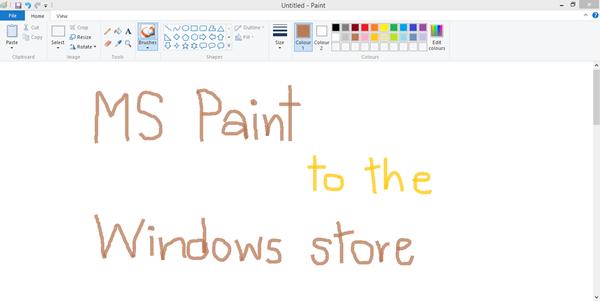 Microsoft Paint ยังไม่หายไปไหน แค่ย้ายไปอยู่ใน Windows Store