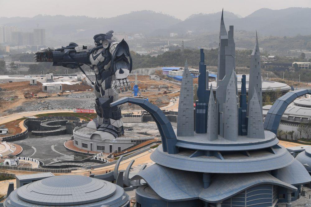 จีนใช้เทคโนโลยี VR สร้างสวนสนุกขนาดใหญ่ โดยเปิดให้เข้าชมเดือนหน้า