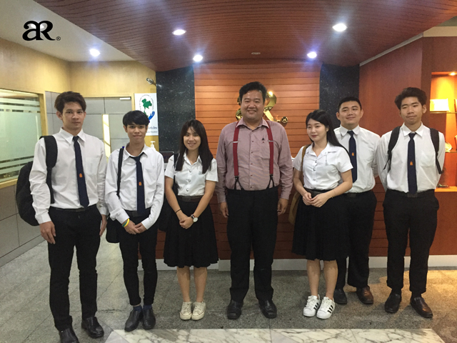 ARSoft ให้สัมภาษณ์ในเรื่อง เทคโนโลยีดิจิทัลกับธุรกิจ แก่น้อง ๆ มหาวิทยาลัยเทคโนโลยีพระจอมเกล้าธนบุรี