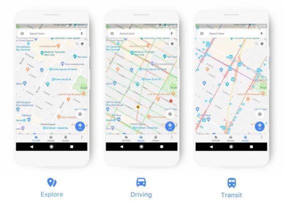 Google Maps อัปเดทสีไอคอนใหม่ เพื่อให้ง่ายต่อใช้งานและระบุตำแหน่งที่ต้องการ