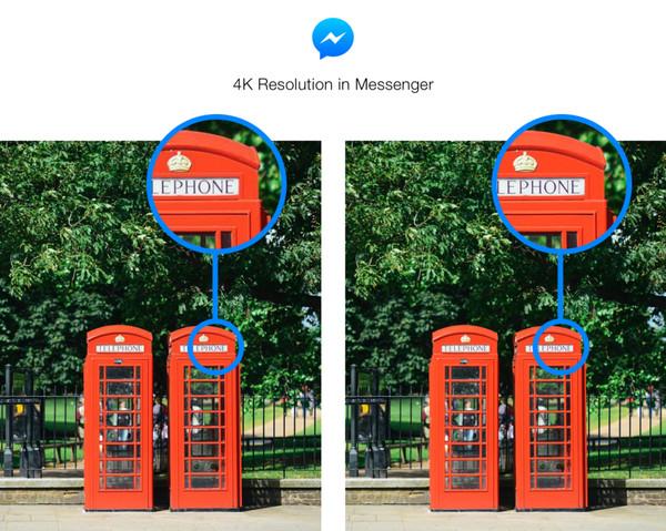Facebook Message สามารถส่งรูปภาพที่มีความละเอียดสูงผ่านแชทได้แล้ว