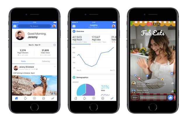 Facebook Creator แอปพลิเคชันใหม่ ช่วยสร้างวิดีโอบน Facebook ได้ง่ายขึ้น