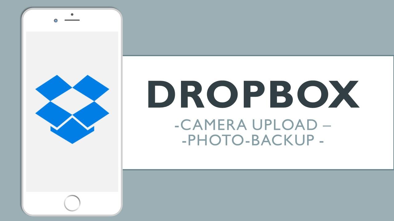 Camera Upload และ photo-backup ใน Dropbox เพื่อสำรองรูปภาพทั้งหมดได้ง่าย ๆ บน iPhone และ iPad
