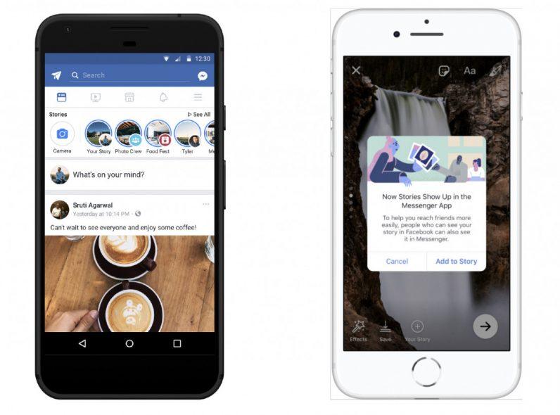 Facebook ผสานรวม Messager day กับคุณลักษณะหลักของ Stories เข้าด้วยกัน