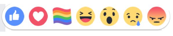 ปุ่มสีรุ้งใน Facebook คืออะไร
