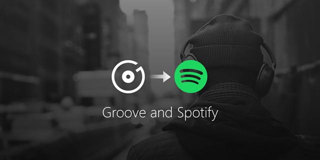 Microsoft ถอนบริการ Groove Music ซึ่งเป็นพันธมิตรกับ Spotify แล้ว