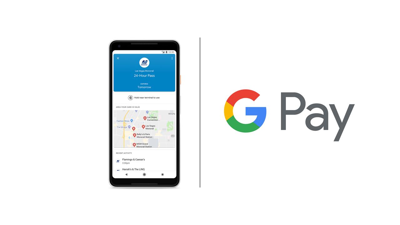 Google Pay สามารถใช้ชำระค่าตั๋วการเดินทางได้แล้ว เริ่มต้นที่ Las Vegas เป็นที่แรก