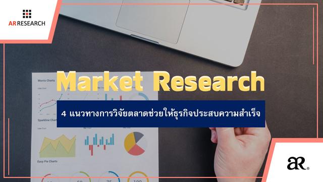 4 แนวทางการวิจัยตลาดช่วยให้ธุรกิจประสบความสำเร็จ