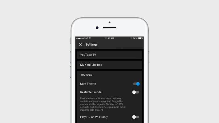 YouTube ให้ผู้ใช้สามารถใช้ Dark Mode ในแอปพลิเคชันได้แล้ว