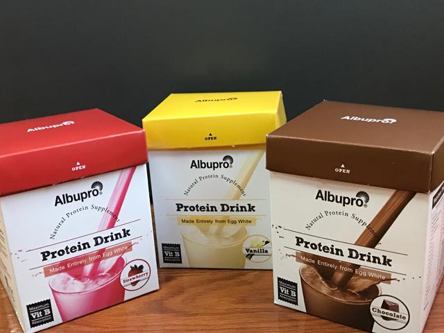 Albupro ได้รับคัดเลือกให้ขึ้นอยู่ในบัญชีนวัตกรรมไทย