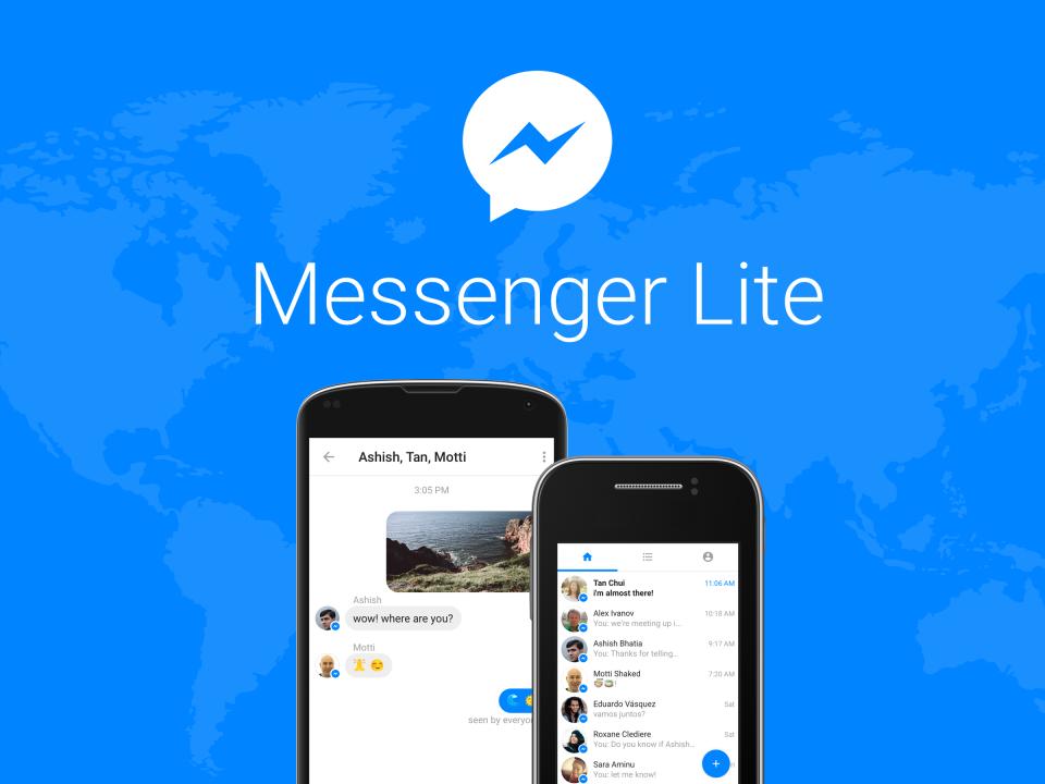 Facebook เปิดตัว Messenger Lite สำหรับ Android ในสหรัฐฯ สหราชอาณาจักรและประเทศอื่น ๆ