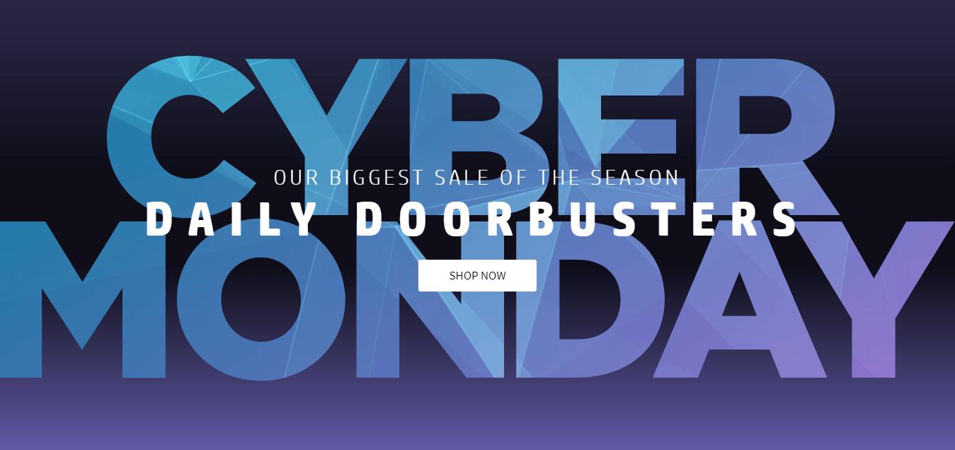Cyber  Monday เริ่มต้นแล้วกับมหกรรมลดราคาส่งท้ายปี