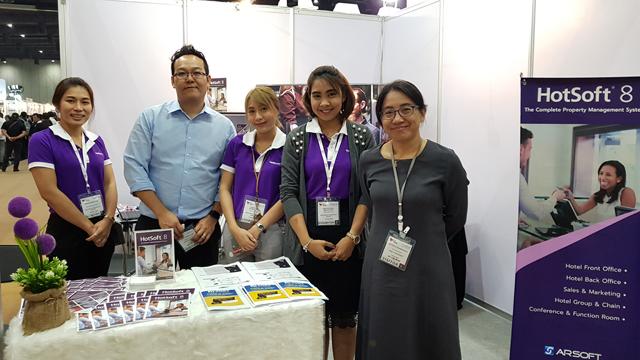 ARSOFT เปิดตัว HotSoft8 ในงาน Food & Hotel Thailand (FHT) 2018