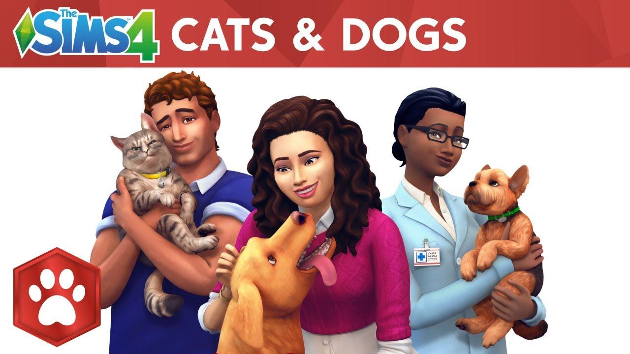 ใหม่! ภาคเสริมของ The Sim 4 : Cats & Dogs มาพร้อมกับความสนุกของสัตว์เลี้ยง