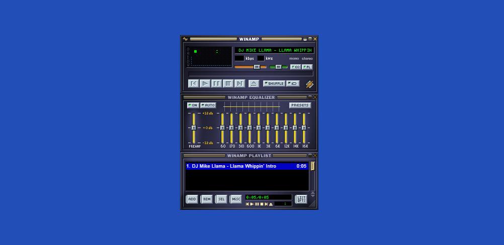 Winamp กลับมาทำงานอีกครั้งในรูปแบบใหม่ สามารถฟังเพลงได้บนเบราว์เซอร์