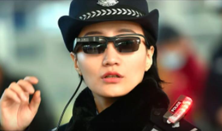 ตำรวจจีนใช้แว่นตาไฮเทค เพื่อตรวจหาการก่ออาชญากรรมและผู้กระทำความผิดได้ทันที