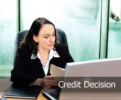 credit decision